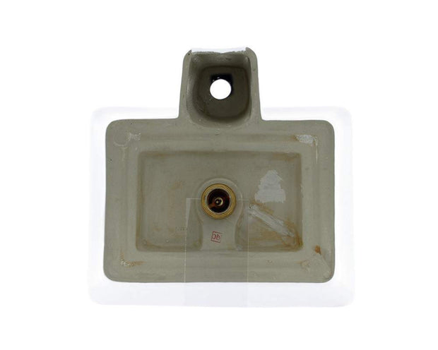 Polaris P092VW 18-3/4 INCH PORCELAIN VESSEL SINK