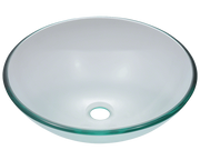 Polaris P106CR 16-1/2 INCH COLORED GLASS VESSEL SINK