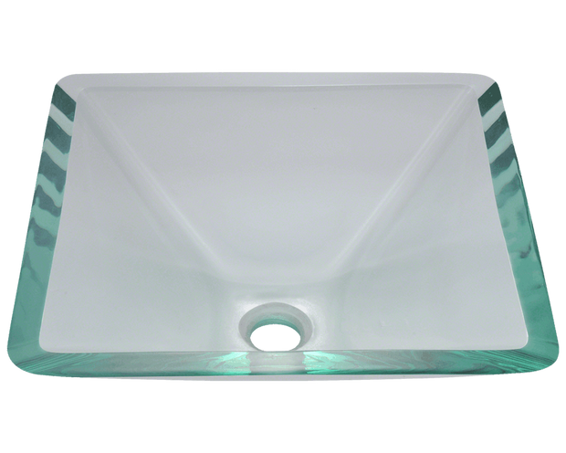 Polaris P306CR 16-1/2 INCH COLORED GLASS VESSEL SINK