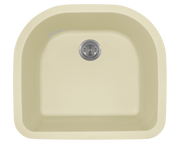 Polaris P428 24-3/4 Inch D-Bowl AstraGranite Sink