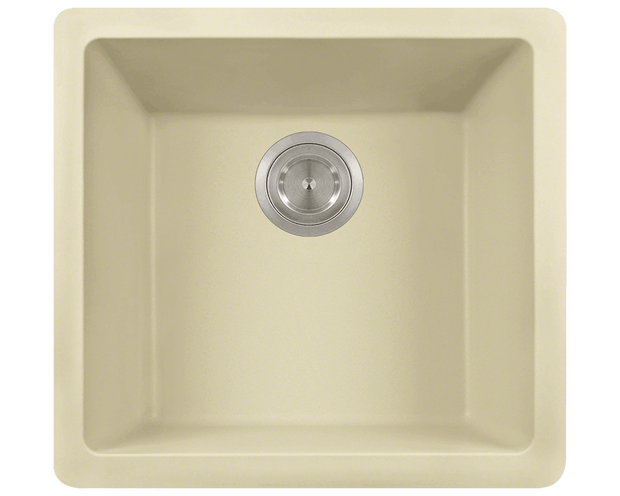 Polaris P508BE 17-3/4 INCH SINGLE BOWL ASTRAGRANITE SINK