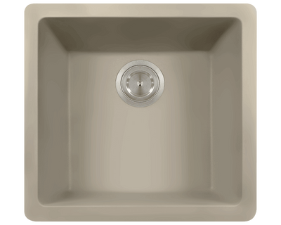 Polaris P508ST 17-3/4 INCH SINGLE BOWL ASTRAGRANITE SINK