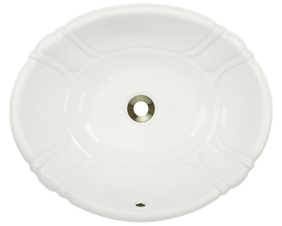 Polaris P5181OW 19-7/8 INCH PORCELAIN VESSEL / DROP-IN SINK
