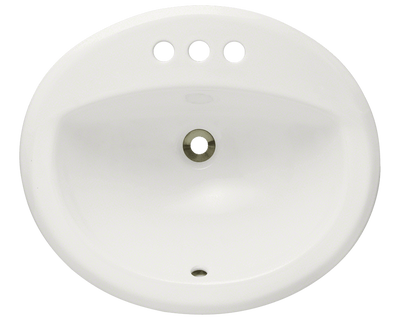Polaris P8102OB 20 INCH OVERMOUNT BATHROOM SINK