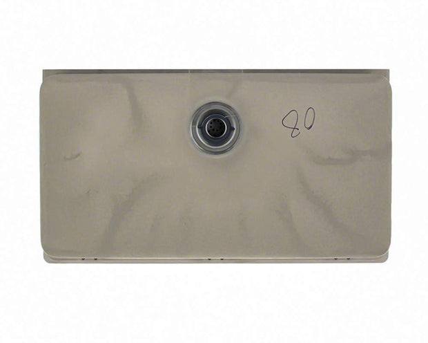 Polaris P848ST 32-5/8 INCH LARGE SINGLE BOWL UNDERMOUNT ASTRAGRANITE KITCHEN SINK