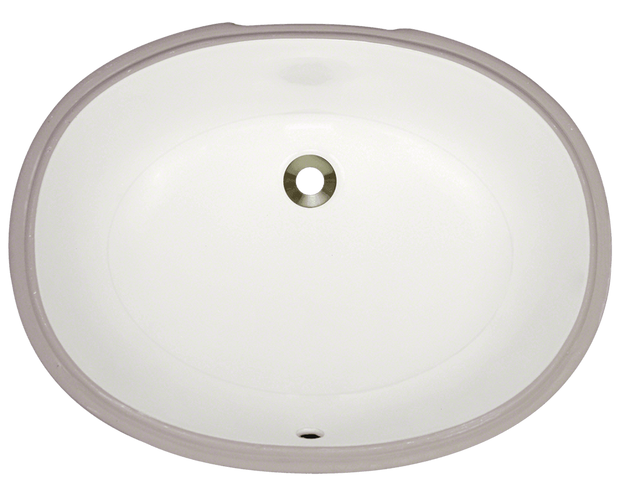 Polaris PUPLB 22 INCH PORCELAIN BATHROOM SINK
