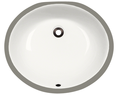 Polaris PUPMB 19 INCH PORCELAIN BATHROOM SINK