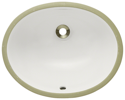 Polaris PUPSB 16-1/2 INCH PORCELAIN BATHROOM SINK