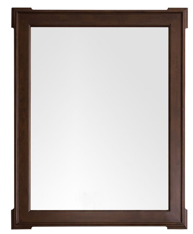 JAMES MARTIN 250-M35-BNM PASADENA 35 INCH MIRROR IN BURNISHED MAHOGANY