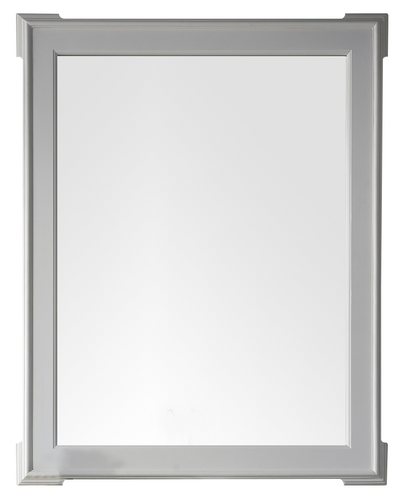 JAMES MARTIN 250-M35-BW PASADENA 35 INCH MIRROR IN BRIGHT WHITE