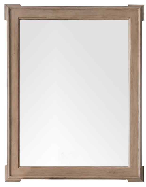 JAMES MARTIN 250-M35-WTP PASADENA 35 INCH MIRROR IN WARM TAUPE