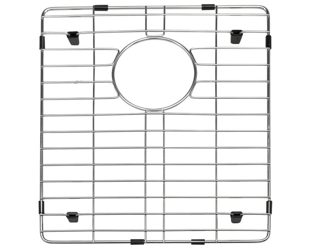 POLARIS P604-ENS 16 GAUGE KITCHEN ENSEMBLE (SINK, 2 STANDARD STRAINERS, AND 2 SINK GRIDS)