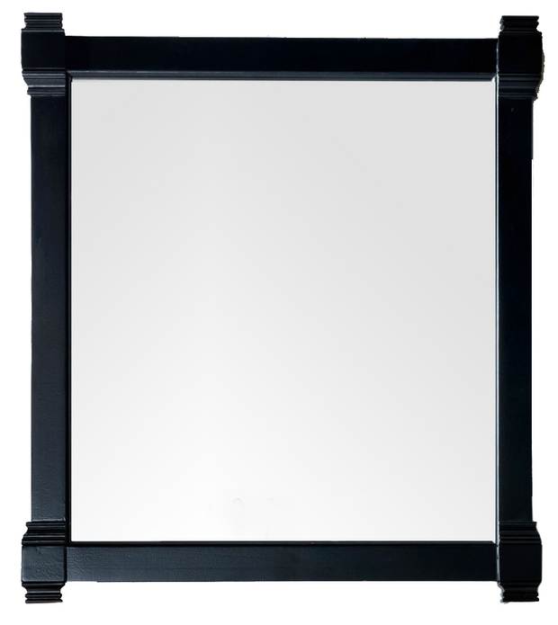 JAMES MARTIN 650-M35-BKO BRITTANY 35 INCH MIRROR IN BLACK ONYX
