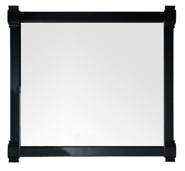 JAMES MARTIN 650-M43-BKO BRITTANY 43 INCH MIRROR IN BLACK ONYX