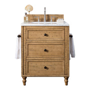 James Martin 300-V26-DRP Copper Cove 26 Inch Single Vanity Cabinet, Copper Cover