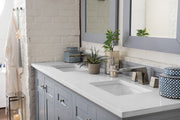 James Martin 527-V72-SL Palisades 72 Inch Double Vanity in Silver Gray