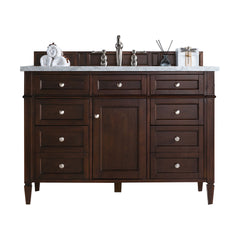 James Martin 650-V48-BNM Brittany 48 Inch Single Cabinet, Burnished Mahogany