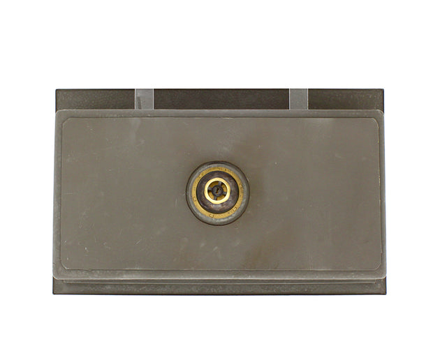 POLARIS P519 SINGLE BOWL DUAL-MOUNT COPPER BATHROOM SINK IN HAMMERED COPPER