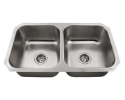 POLARIS P2201US-ENS KITCHEN ENSEMBLE (SINK AND 2 STANDARD STRAINERS)