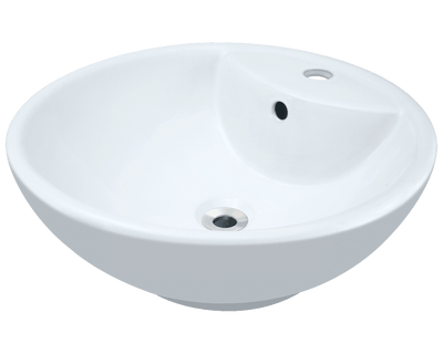 Polaris P2072VW 18-1/8 INCH PORCELAIN VESSEL SINK