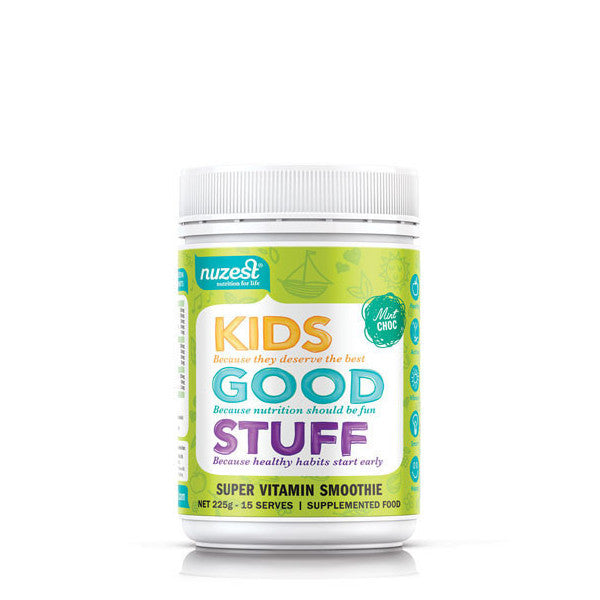 NUZEST Kids Good Stuff - Choc Mint 225gm