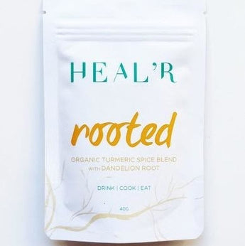 HEALr Rooted Organic Turmeric Spice Blend with Dandelion Root