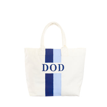 Double Stripe Canvas Tote