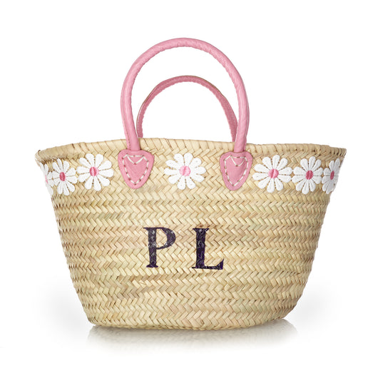 Pink Handle Basket