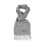 Grey Luxury Lambswool Scarf