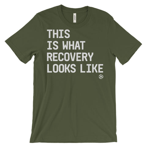 What Recovery Looks Like In a T-Shirt