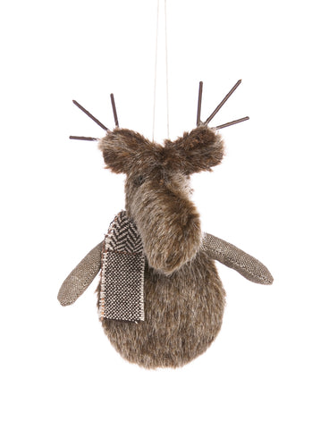 Plush Deer Ornament