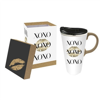 XOXO Ceramic Travel Cup