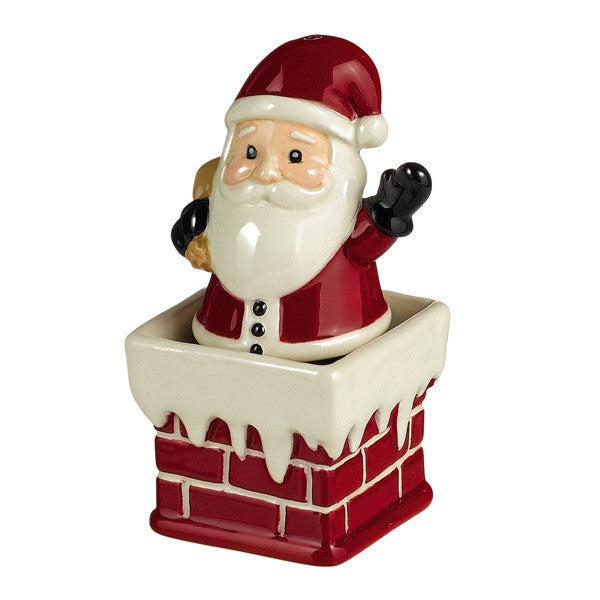 Santa Salt & Pepper Shaker Set