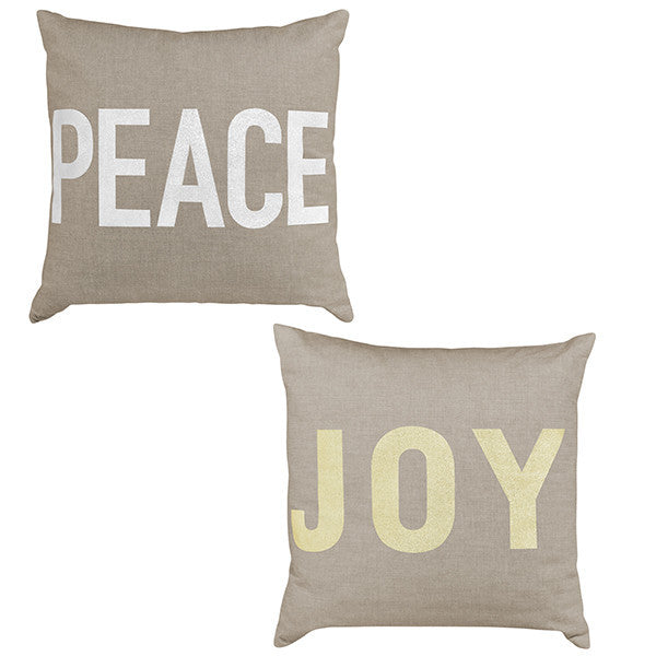 Peace Joy Pillow
