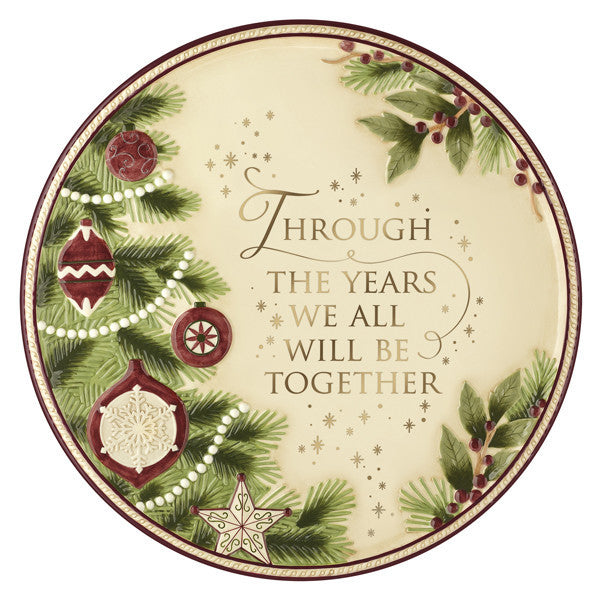 Traditions Lg Round Serving Platter