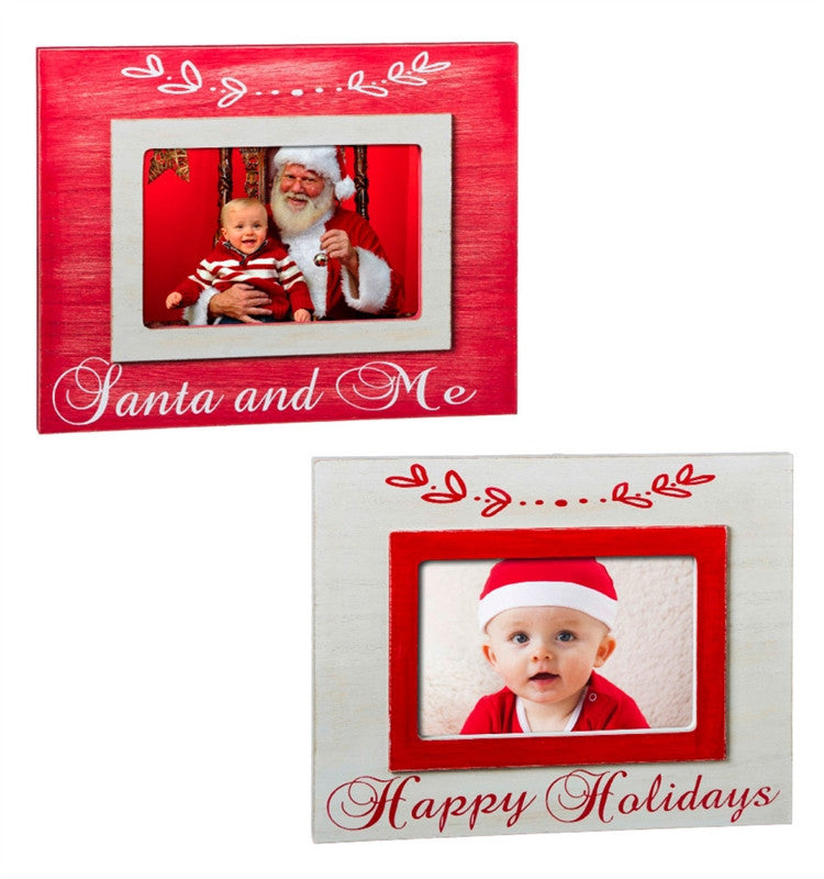 Warmth of the Season Holiday Wooden Photo Frame