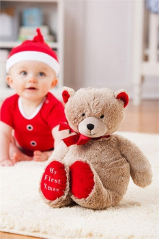 My First Holiday Teddy Bear