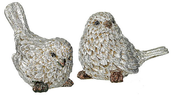 Bird Figurine Glitter