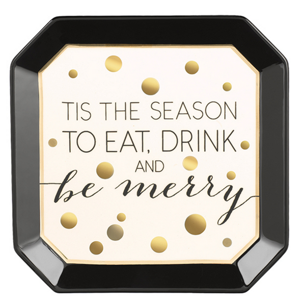 Merry & Bright Tidbit Deco Plate