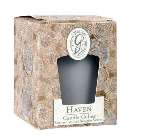 Haven Candle Cube Votive