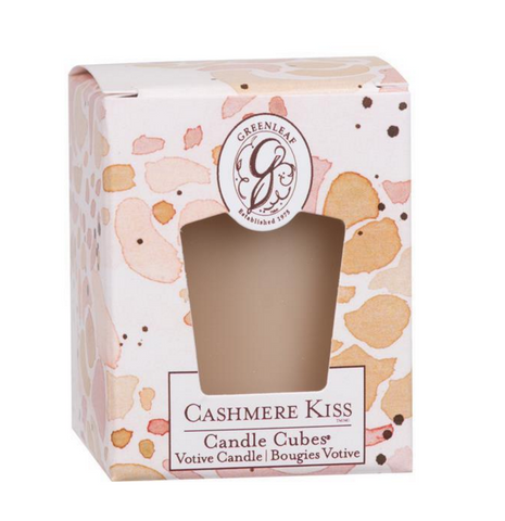 Cashmere Kiss Candle Cube Votive