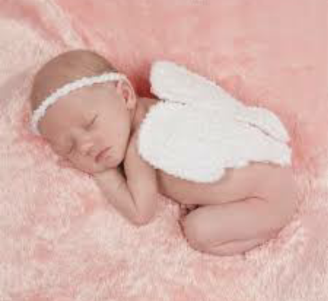 Childrens Angel Wing Photo Set