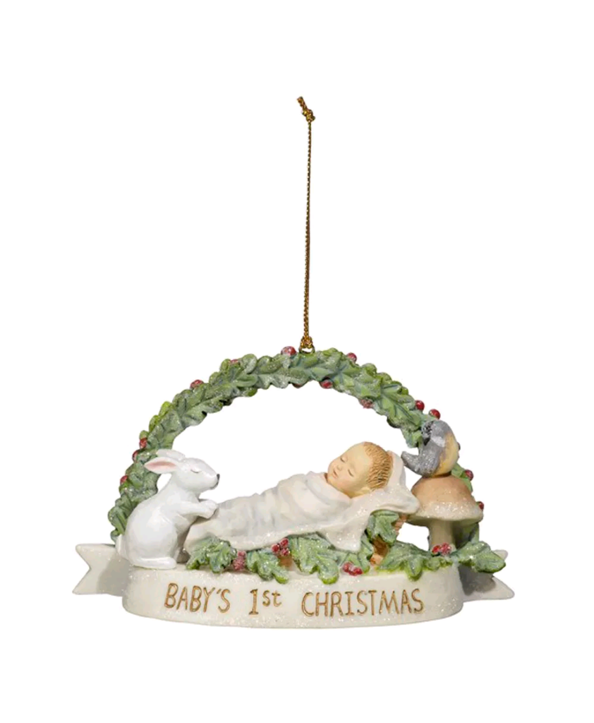 Baby 1st Christmas Keepsake Orn