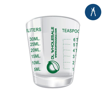 Xacto Shot Glass Individual