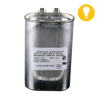 Imported 1000W HPS/MH 26UF/525V Capacitor