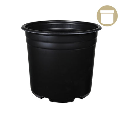 1 Gal. Thermoformed Plastic Pot - Grow Store
