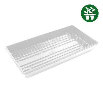 10''x20'' White EXTREME Propagation Tray w/o Drain Holes - Grow Store