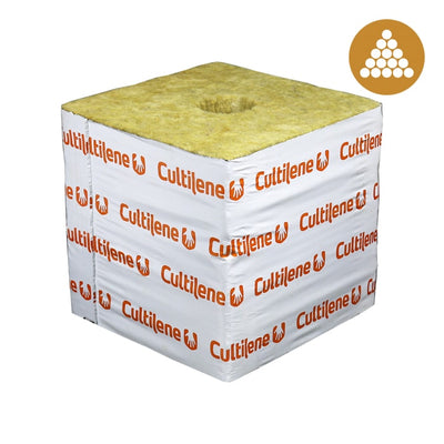 Cultilene 6x6x5.3 Block w/ Optidrain (48 pieces per carton/case) - This item has been discontinued. Please order CUL666 which is 6x6x6 blocks