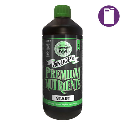 Snoop's Premium Nutrients Start A 5ltr 4-0-0 (Soil, Hydro Run To Waste - Hydro Recirculating)