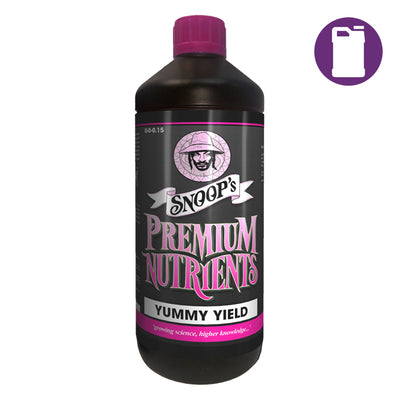 Snoop's Premium Nutrients Yummy Yield 1ltr 0-0-0.15